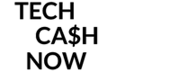 Tech Cash Now White Footer Logo
